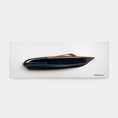 Riva Mounted half-hull relief sculpture - Ispirazione Aquariva | Riva Boutique