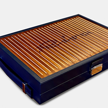 LEATHER BACKGAMMON - COLLECTOR | Riva Boutique