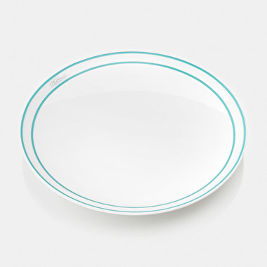 Set 4 plates (soup) cm 22.5 - black_friday | Riva Boutique